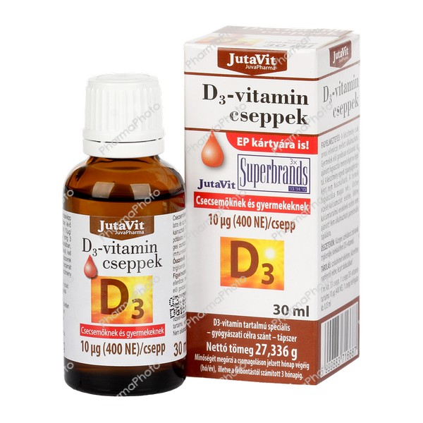 Jutavit D3 vitamin cseppek 30ml233151 2016 tn
